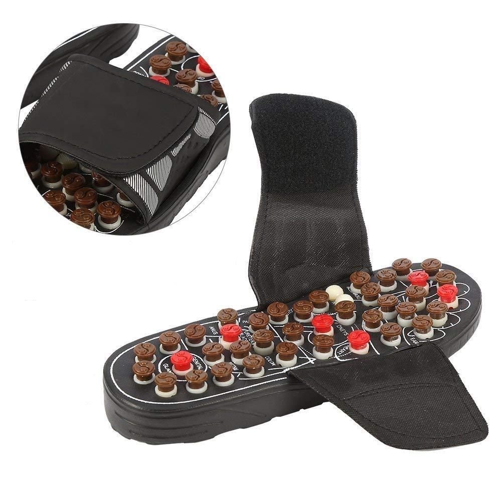 Adjustable Foot Acupuncture Massage Slippers